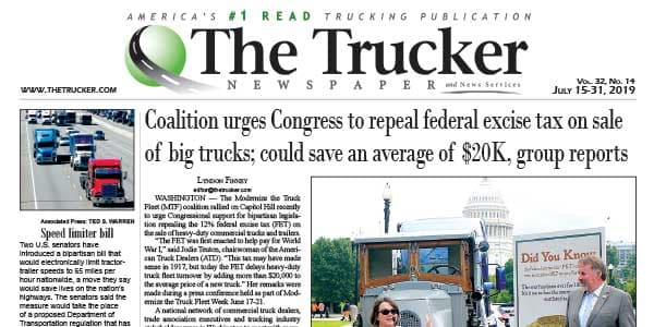 The Trucker Newspaper - July 15, 2019