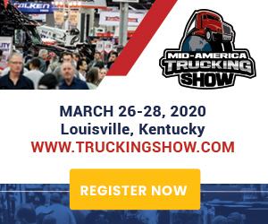 Mid-America Trucking Show ad