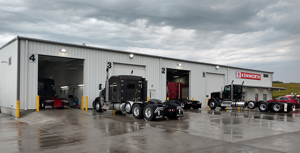 Kenworth service location in Maryland