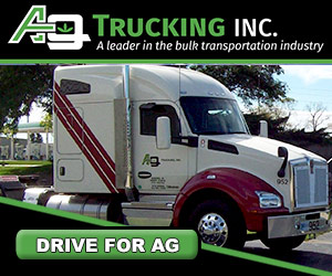 AG Trucking thanks drivers