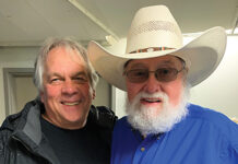Bud Hunter with Charlie Daniels