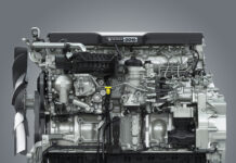 Detroit DD15 Gen 5 engine
