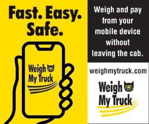 CAT Scale weigh my truck app
