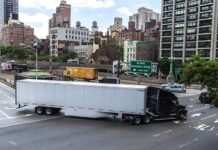 Truck turning in NYC